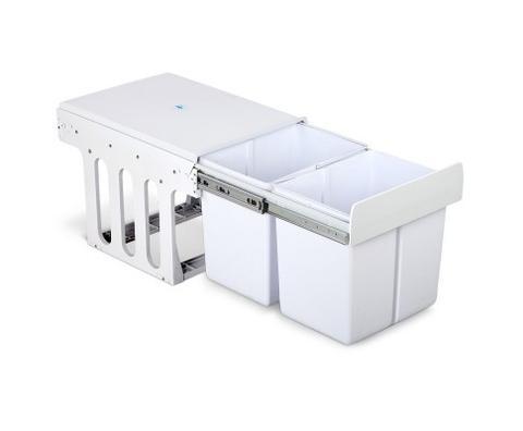 Cefito 2x15l Pull Out Bin White 1 item