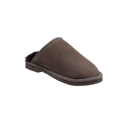 Comfort Me Classic Chocolate Sheepskin Scuffs 1 item