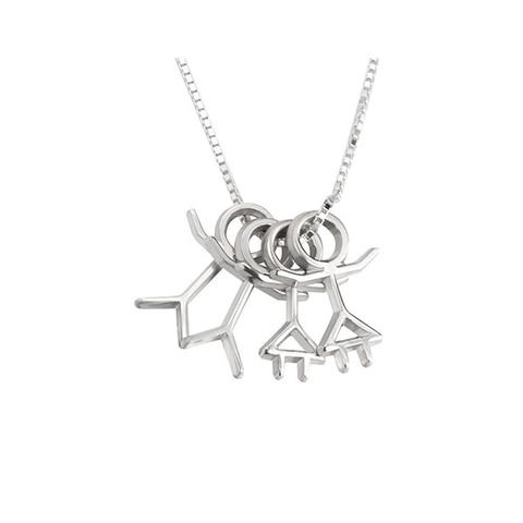 Stick Figure Necklace 1 item