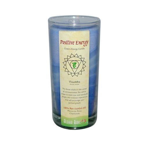 Aloha Bay Chakra Candle Jar Positive Energy (1x11 Oz)