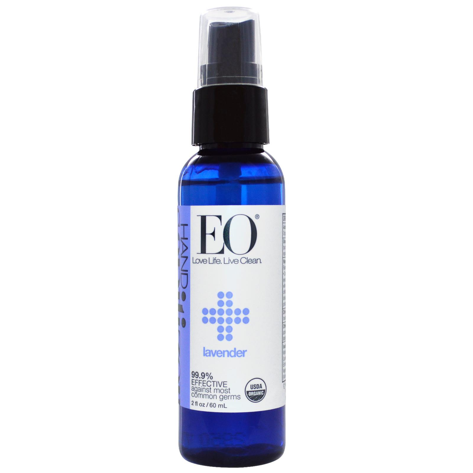 Eo Hand Sanitizer Spry Lavendar (6x2oz )