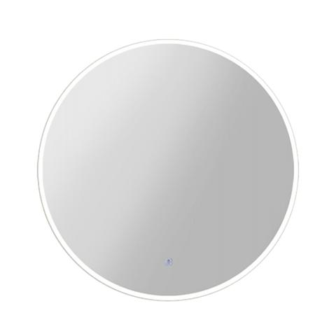 Led Wall Bathroom Mirror Round Light Decor 50cm
