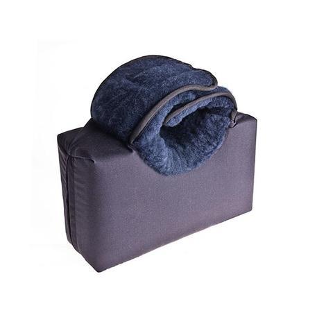 Heel Elevation Soft Faux Sheepskin Cushion With Flat Base 1 item