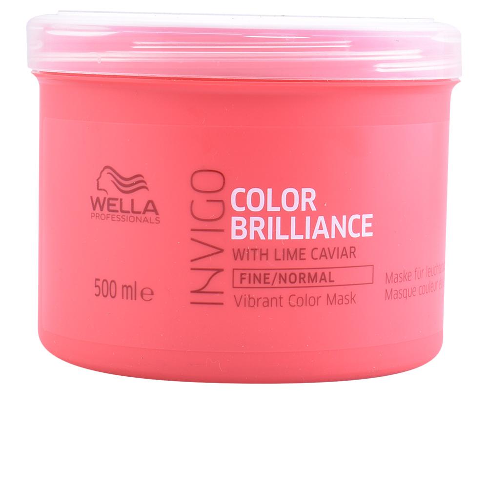 Wella Invigo Color Brilliance Mask Fine Hair 500 Ml
