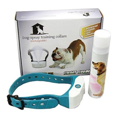 Rechargeable Citronella Dog Collar Stop Barking Spray Mist Training 1 item