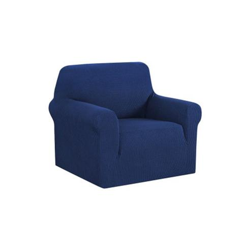 High Stretch Sofa Cover Couch Protector Slipcovers Navy 1-Seater
