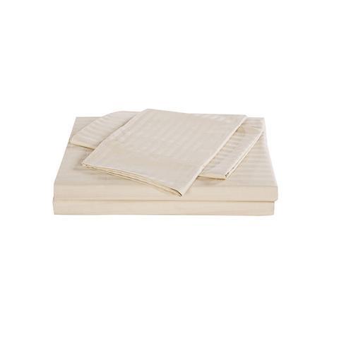 Kensington 1200 Tc Egyptian Cotton Sheet Set Stripe Hotel Grade Sand King