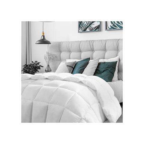 Casa Decor Silk Quilt 360gsm Hypoallergenic White Queen