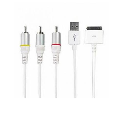 Av Cable For Iphone 3gs 4g Ipad 1 item