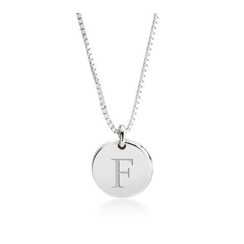 Letter Pendant Necklace 1 item