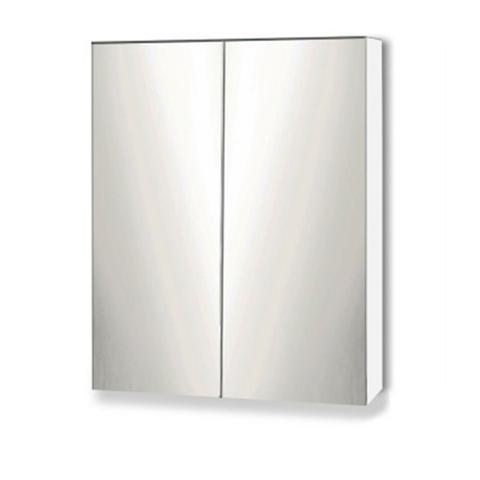 Storage Mirror Cabinet - White 1 item