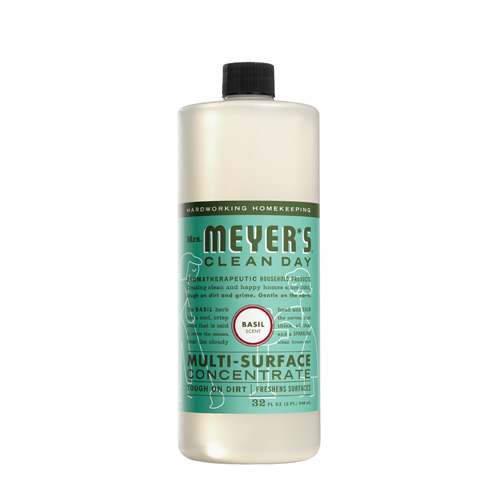 Mrs. Meyer's Multi Surface Concentrate Basil (6x32 Fl Oz)