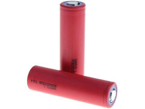 Sanyo 4250mah 20a 3.6v Li-ion Rechargeable Batteries (2 Batteries) 1 item