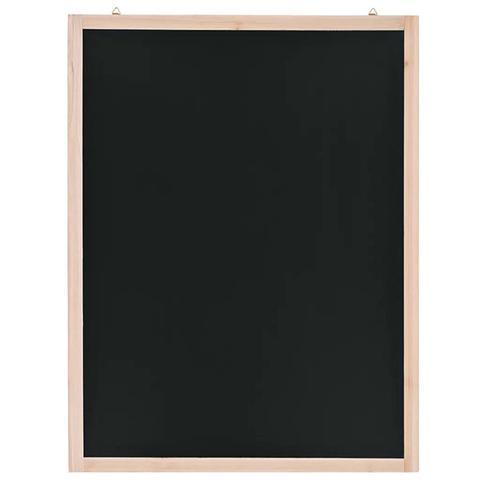 Cedar Wood Wall Mounted Blackboard 60x80cm 1 item