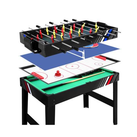 4ft 4in1 Soccer Table Tennis Ice Hockey Pool Game Football Foosball 1 item