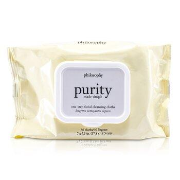 Purity Made Simple One-step Facial Cleansing Cloths 30towlettes 30towlettes