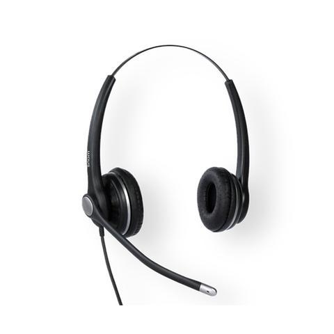Snom Wideband Binaural Headset For Snom D3xx D7xx 7xx 1 item