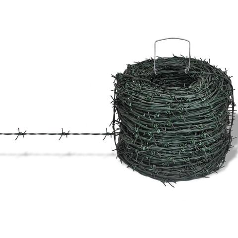 Barbed Wire Entanglement Roll 100m 1 item
