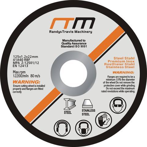 125mm 5 Cutting Disc Packs 1 item