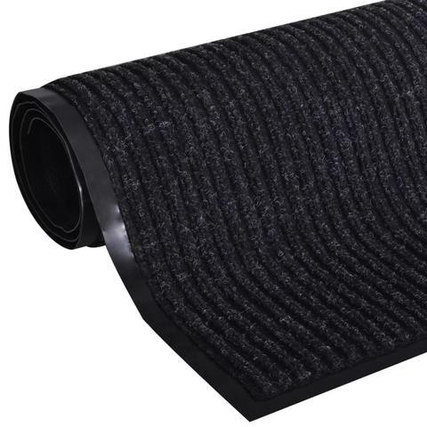 Pvc Door Mat 90 X 60 Cm - Black 1 item