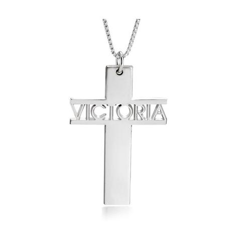 Cross Necklace Name 1 item