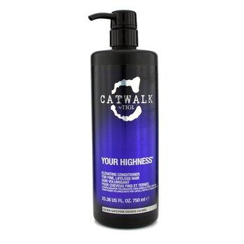 Catwalk Your Highness Elevating Conditioner (for Fine Lifeless Hair) 750ml or 25.36oz 750ml/25.36oz