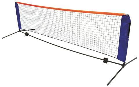 6m Portable Foldable Mini Tennis Net & Post Set 1 item