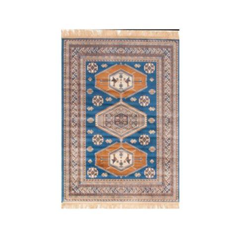 Chiraz Silky Navy Rug 68 x 105 cm