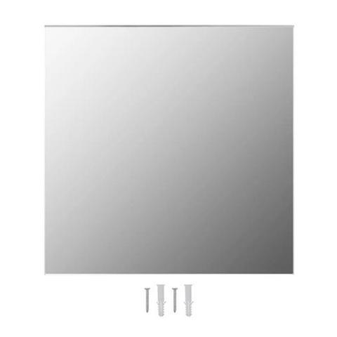 Wall Mirror Square Glass 70 x 70 cm