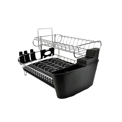 Stainless Steel Kitchen Dish Cup Plate Rack Drainer Tray Holder 1 item