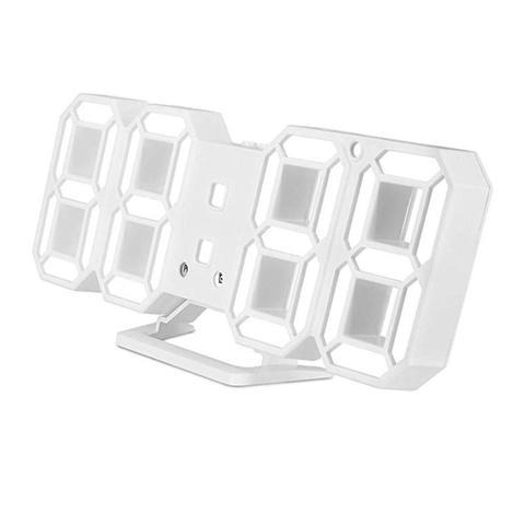 Modern Digital 3d Led Wall Clock Alarm Clock 1 item