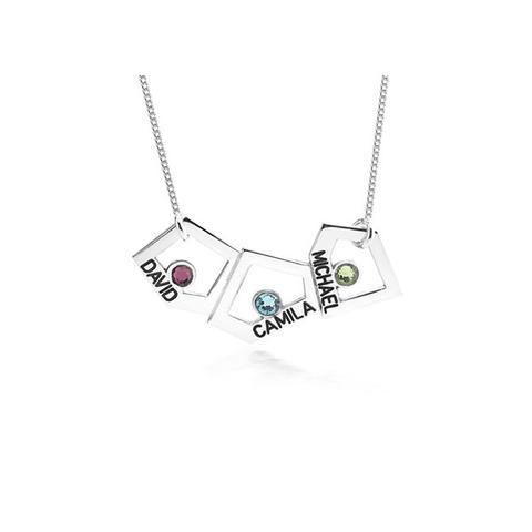 Geometric Mother Necklace 1 item
