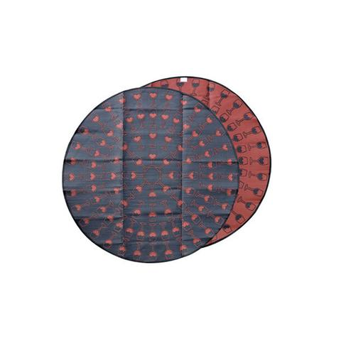 Wine Lovers Recycled Plastic Mat 1 item