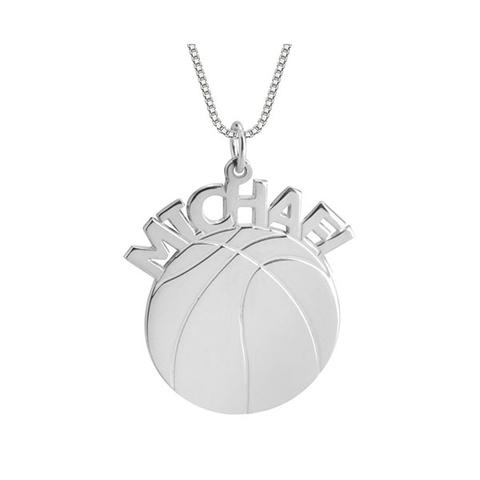 Basketball Name Necklace 1 item