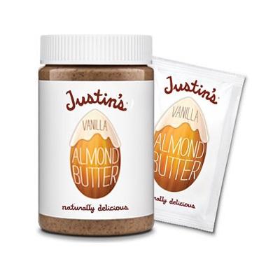 Justin's Nut Butter Natural Vanilla Almond Butter (6x16 Oz)