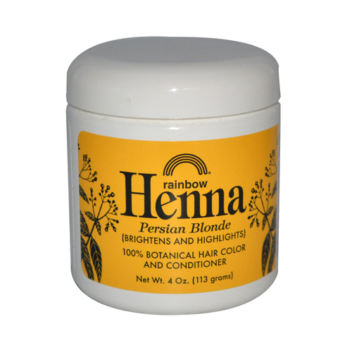 Rainbow Research Henna 100% Botanical Hair Color and Conditioner Persian Blonde 4 Oz