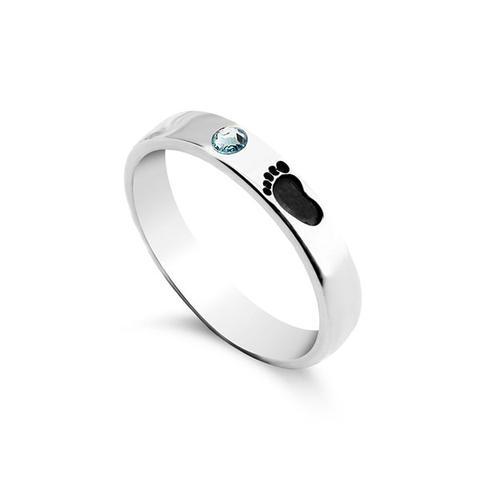 Baby Footprint Ring 1 item