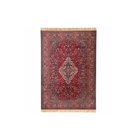 Chiraz Silky Red Hall Rug 68 x 105 cm
