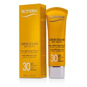 Creme Solaire Spf 30 Dry Touch Uva or Uvb Matte Effect Face Cream 50ml or 1.69oz 50ml/1.69oz