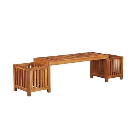 Garden Planter Bench Solid Acacia Wood 180x40x44 Cm 1 item