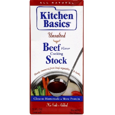 Kitchen Basics Beef Stock Unsltd (12x32oz )