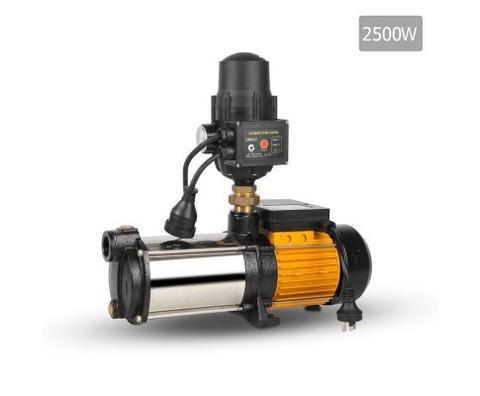 Giantz 2500w 5-stage Pressure Pump - Black 1 item