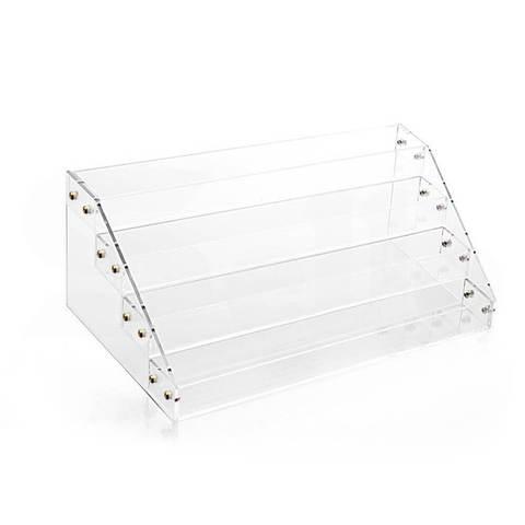 Clear Acrylic Nail Polish Varnish Cosmetics Display Stand Rack Organiser 1 item
