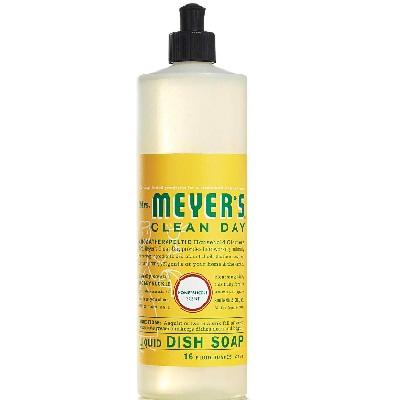 Mrs Meyers Liquid Dish Soap Honeyskl (6x16oz )