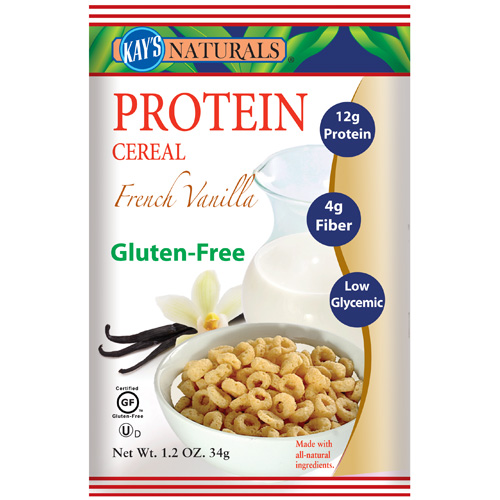 Kay's Naturals Protein Cereal French Vanilla 1.2 Oz (6 Pack)