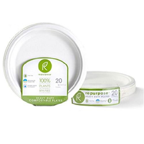 Repurpose Compostable Bagasse Plates 6 In (24x20 Ct)