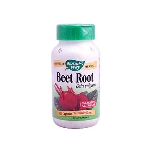 Nature's Way Beet Root Beta Vulgaris (100 Capsules)