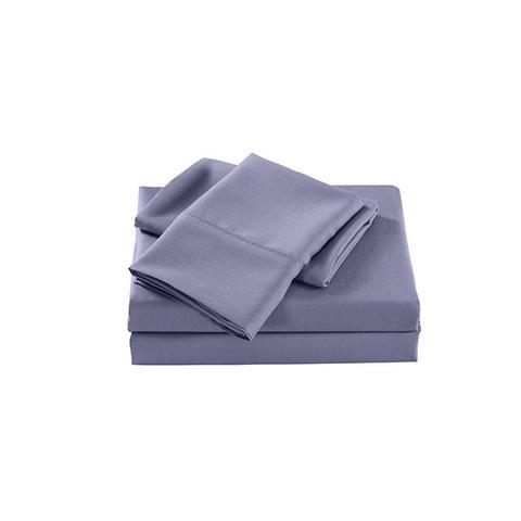 Royal Comfort 2000 Tc Bamboo Cooling Sheet Set Ultra Soft Lilac Grey Single