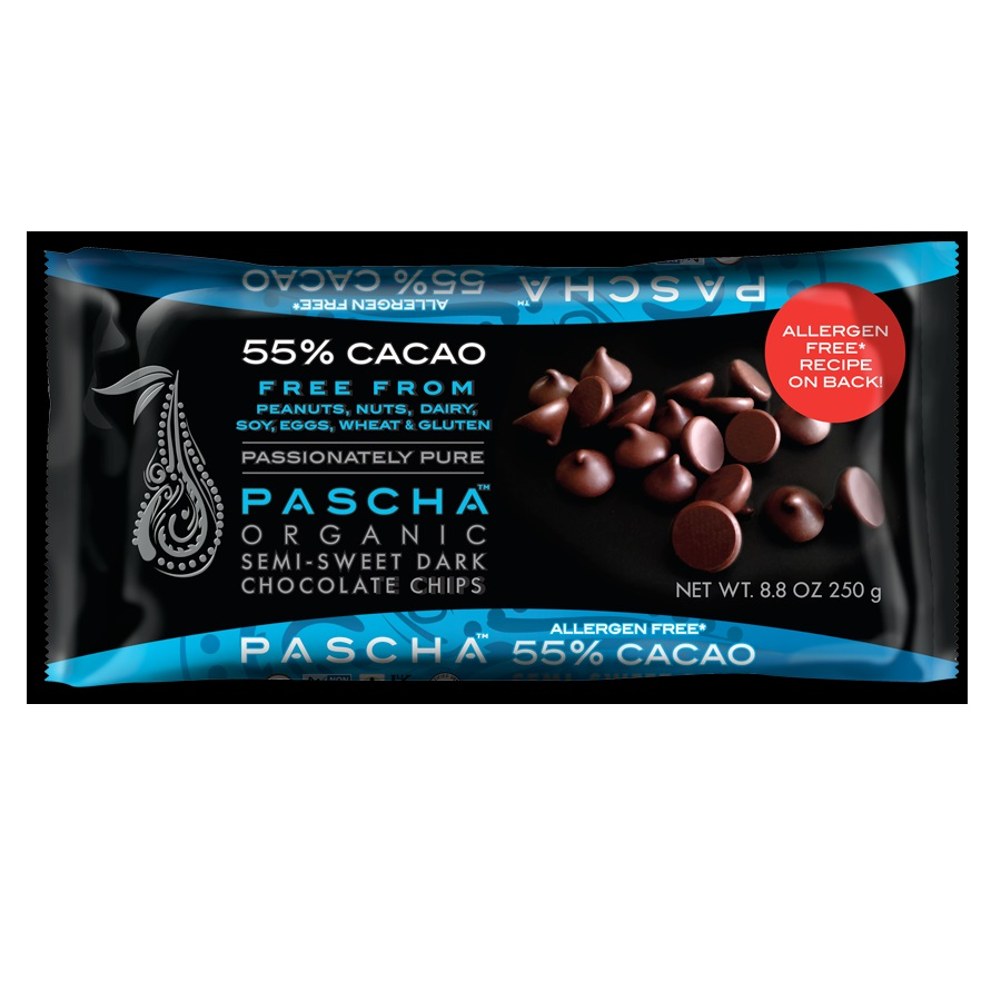 Pascha Choc Chipssemisweet55% Cacao (6x8.8 Oz)