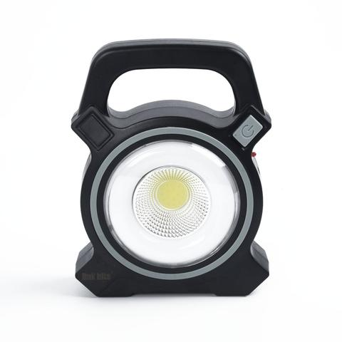 Cob Solar Work Spotlight Flood Lamp grey 1 item